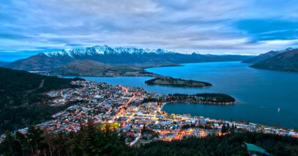 Vuelos de Auckland - International a Queenstown - Frankton
