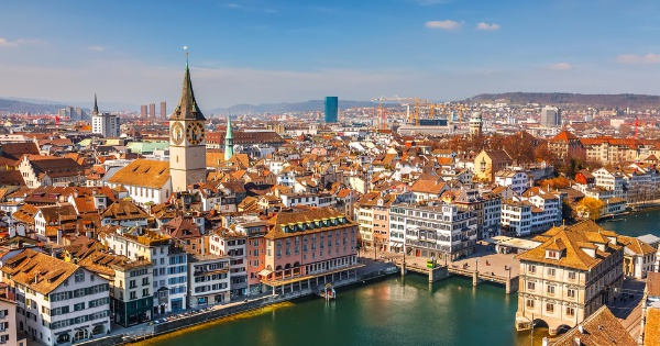 Flights from London - Gatwick to Zurich