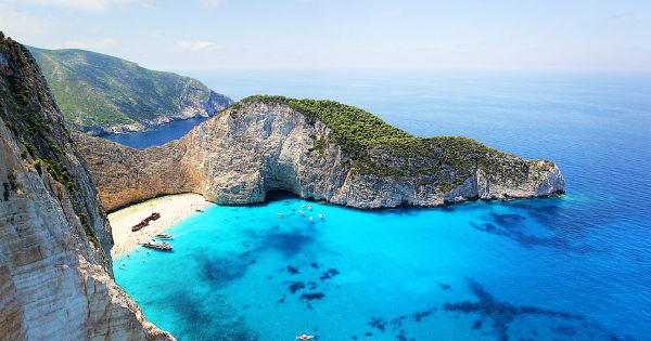 Flights from London to Zakinthos